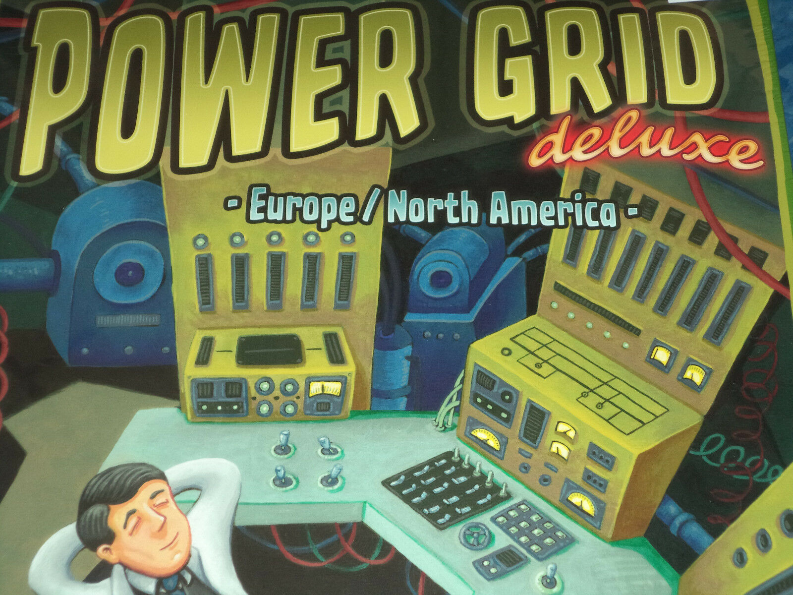 Réseau électrique Deluxe-Rio Grande Games Jeu de plateau NOUVEAU  Europe Amérique du Nord