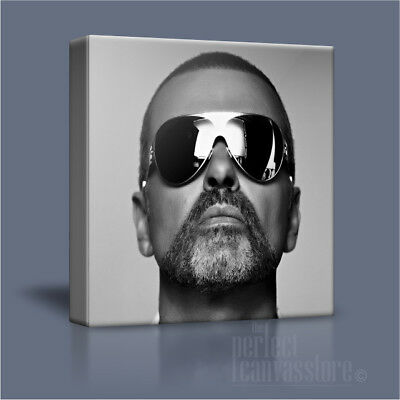 GEORGE MICHAEL LISTEN WITHOUT PREJUDICE ICONIC CANVAS PRINT PICTURE ArtWilliams2