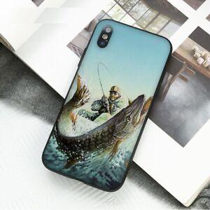Funda-de-Pesca-Pescador-iPhone-5-6-6S-7-8-Plus-Xr-XS-11-Pro-Max-X-SE-2nd