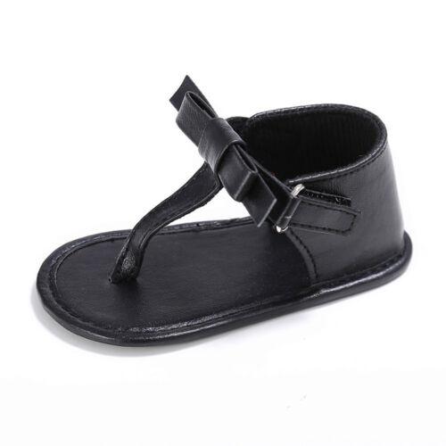 Toddler Girl Crib Chaussures nouveau-né Fleur Semelle Souple Anti-Dérapant Bébé Baskets Sandales