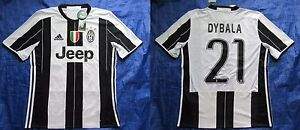 2dc4e4d89 Image is loading Paulo-Dybala-21-JUVENTUS-JUVE-shirt-ADIDAS-2016-