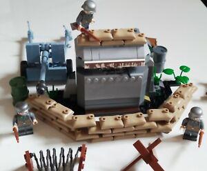 Lego-militaire-2eme-guerre-mondiale-Soldat-canons-armes-custom-WW2