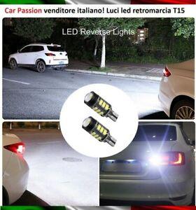 Lumieres-Marche-Arriere-13-LED-T15-W16W-Fiat-Panda-Ampoules-Canbus-6000K-No