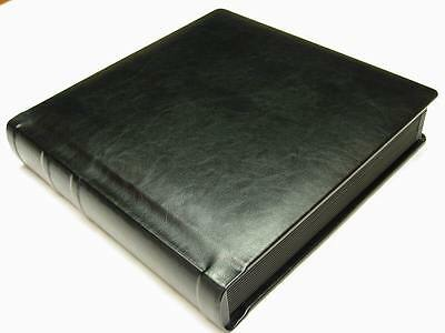 Professional 10x10 black Wedding Photo Album With 40 Mats  (Engraving Available)