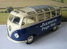 WEDDING DAY Name Gift Personalised Page Boy Usher Big 1/24 Blue VW Camper Bus