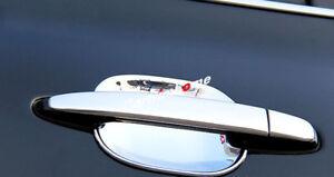 For Toyota Prado FJ120 2003 - 2009 Car Side Door Handle&Bowl Cover Trim 15pcs
