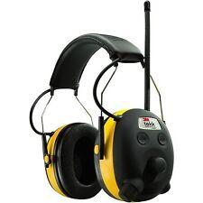 NEW 3M 90541 PELTOR WORKTUNES AM/FM/MP3 DIGITAL EARMUFFS HEADSET HEADPHONES