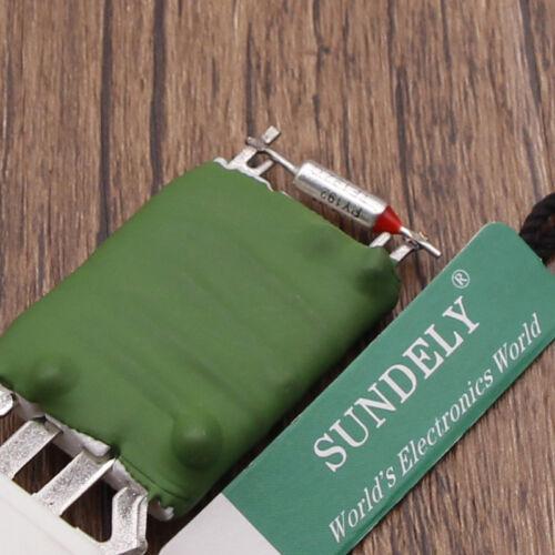 2002-2009 FOR FORD FIESTA MK6 1.4 TDCI DIESEL HEATER BLOWER FAN RESISTOR UK