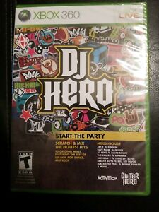 DJ-Hero-Xbox-360-Disc-Only-Free-Shipping