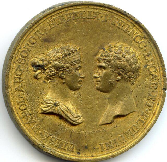 Italie Lucques et Piombino Felix et Elisa Bonaparte Académie de Lucques 1805