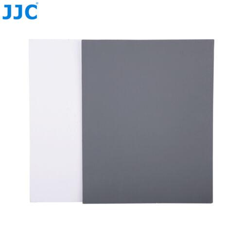 JJC UNIVERSALE 2in1 bilanciamento bianco grigi carta per Canon EOS 5D II 7D 6D III 70D 60D