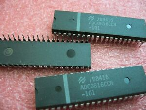QTY-1x-National-Semi-ADC0816CCN-8-Bit-uP-Compatible-A-D-Converters-DIP-40