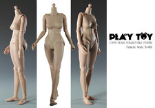 """1:6 Play Toy – Collectible 12"""" Female Action Figure Body B Cup Version PT-S001"""