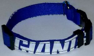 big sale 4cf14 82ecf Details about New York Giants COLLAR Cat Dog Small Pet Pro Football Team  Fan Gear NFL Shop NY