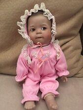Ashton Drake Vintage Doll Yolanda Bellow Baby Pink Flower Rainbow Of Love