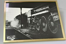 "Steam engine professional photographs, professionally printed, 17"" x 21"" B&W 2"