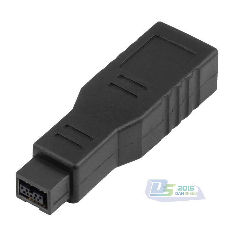 Home 400/800 FireWire IEEE1394 6-Pin Female to 9-Pin Male PC ...
