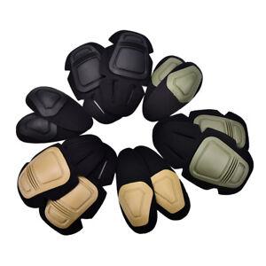 Paintball-airsoft-combat-G3-protection-tactique-genou-coude-protecteurs-Set-I