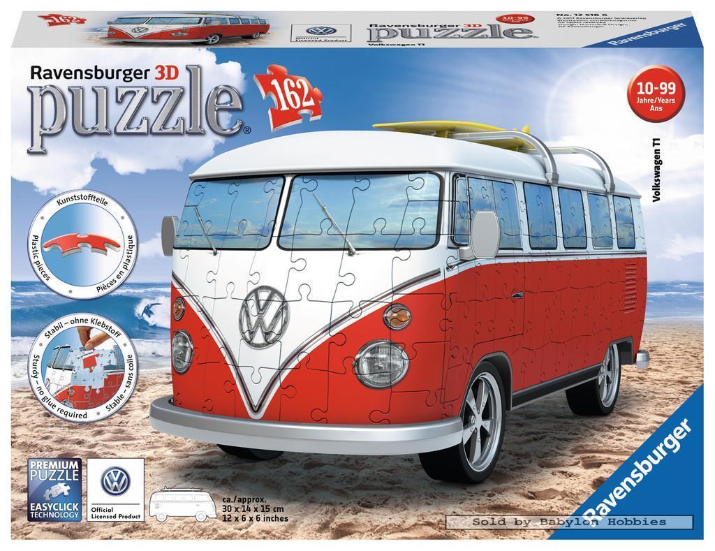 162 st puzzel  VW Bus T1 (Ravensburger 125166)
