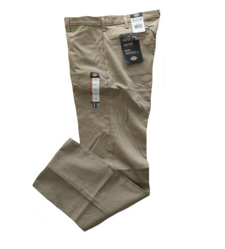 Herren Dickies Baumwolle Arbeitshose Klassisch American WP338 Khaki Stn