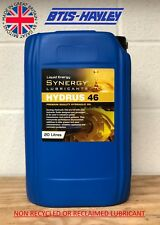 HYDRAULIC OIL ISO 46, Synergy® Hydrus 46 x 20L THE UK'S ONLY SYNERGY DISTRIBUTOR