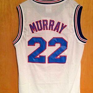 0b02a913ad53 Bill Murray  22 Space Jam Tune Squad Basketball Jersey S M L XL XXL ...
