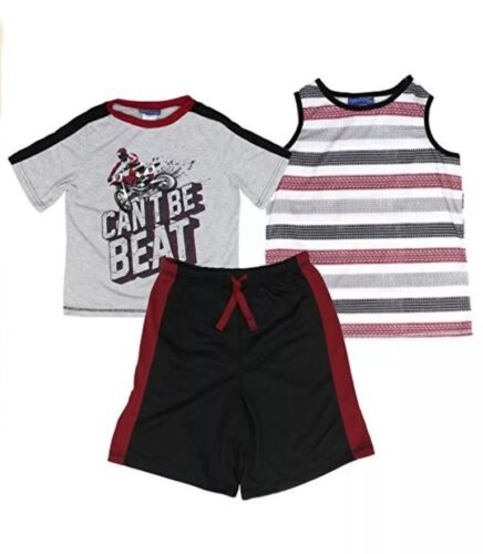 Saint Eva Boys 3 Pieces Sleepwear Size L-14 NWT