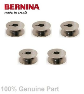 5 X Bernina Machine à Coudre Métal Bobines Spécial Pour 1000 & 1001 Seulement-afficher Le Titre D'origine Pourtant Pas Vulgaire
