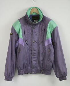 DESCENTE-ENTRANT-SC-VINTAGE-Men-US-LARGE-Shiny-Nylon-Shell-Skiing-Jacket-22611-S