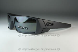 Oakley-GASCAN-POLARIZED-Sunglasses-OO9014-3560-Steel-COLOR-Frame-W-PRIZM-Black