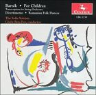 Bart¢k: For Children (Transcription for String Orchestra); Divertimento; Romanian Folk Dances (CD, May-1995, Centaur Records)