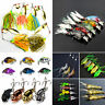 Mixed Fishing Lures Crankbaits Hooks Spinner Bass Baits Tackle Frog Shrimp Lures