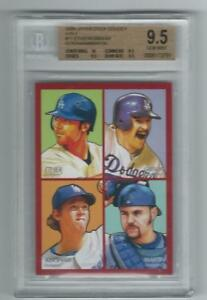 2009-Upper-Deck-Goudey-4-N1-CLAYTON-KERSHAW-K-GIBSON-Graded-Card-BGS-9-5-Dodgers