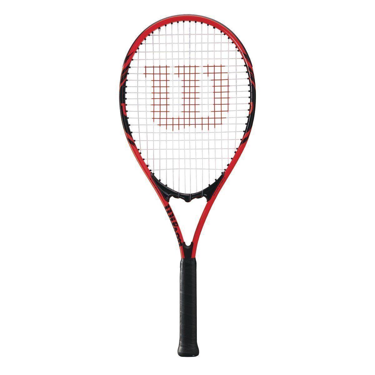 Wilson - WRT30480U3 - Federer Pre-Strung Tennis Racquet - Grip Size 4 3 8