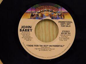 Details about John Barry dj 45 THEME FROM THE DEEP (INSTRUMENTAL) -  Casablanca M-