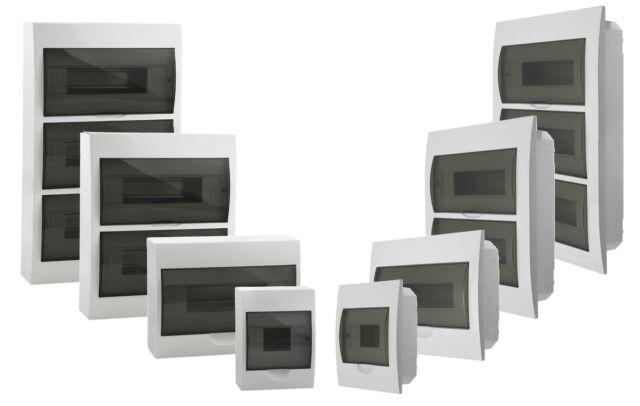 Aufputz Verteiler Sicherungskasten IP40 Verteilerkasten Aufbau 1// 6 Module 03831