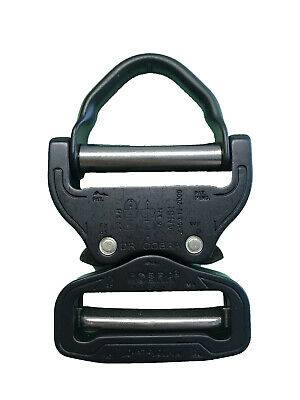 Luminosa Austrialpin Ansi D Anello Fibbie Cobra 45mm Matt Black + Clip Nero-fx45mvd-b-mostra Il Titolo Originale
