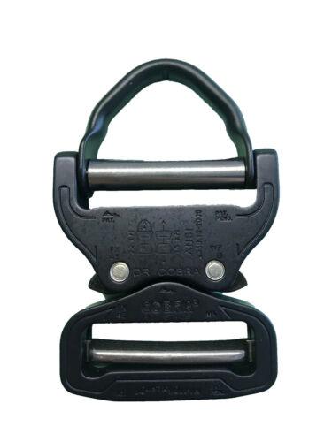 Clips Austrialpin Ansi D Ring Cobra 45mm Schnalle Matt Schwarz FX45MVO-B