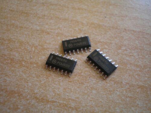 MC14069U Inverter Schmitt Trigger Motorola 14 Pin SMT 3 par commande HU140