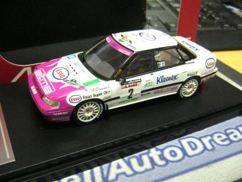 Subaru Legacy RS Rallye Liatti réseaux réseaux réseaux locaux 1993 ESSO HPI prix spécial haut de gamme 1 43 415732