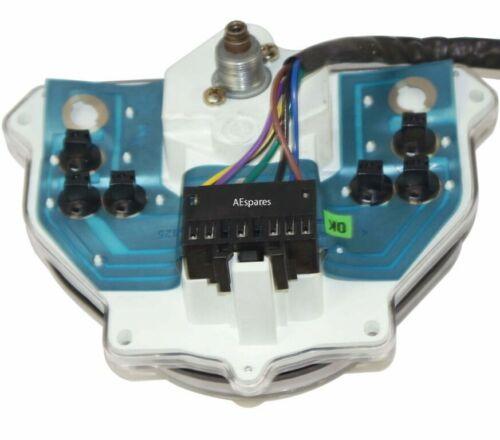 H Schwarzes Gesicht Vespa PK50 125 LML Sensation Tachometer 120 KM