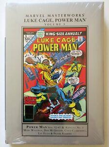 Luke-Cage-Power-Man-Vol-3-Marvel-Masterworks-Hardcover-Graphic-Novel-Comic-Book