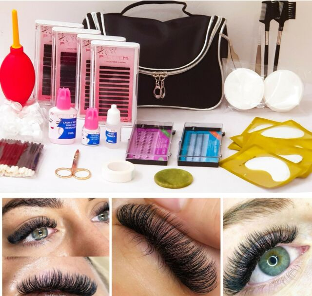Classipro Professional Starter Individual Eyelash Extension Kit Semi
