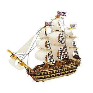 Victory-Sailing-Boat-3D-Puzzle-Wooden-Ship-Model-Building-Kits