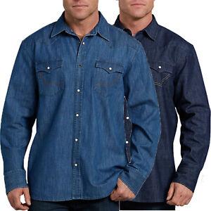 f91596dcde La foto se está cargando Camisa-Dickies-Relaxed-Fit-Icono-Para-Hombre-Manga-