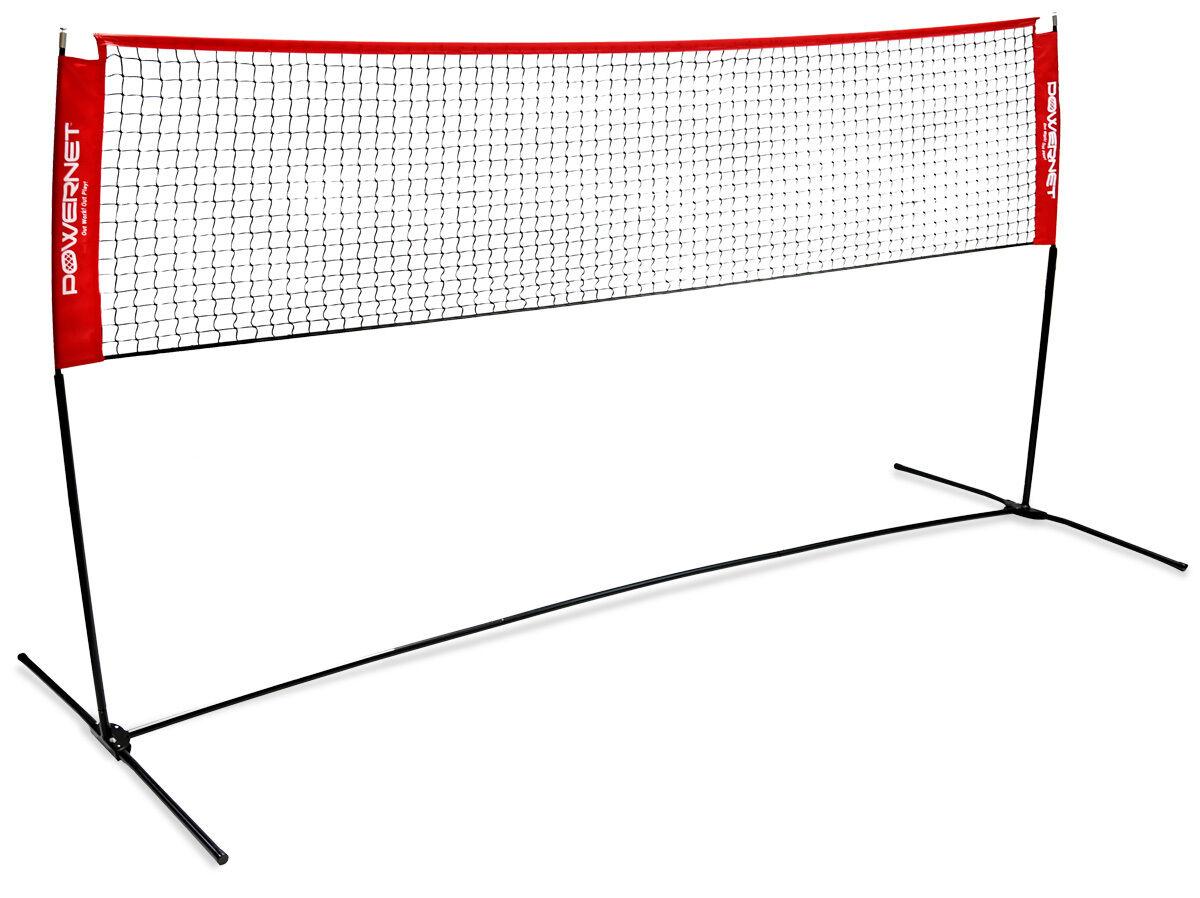 Badminton Tenis Voleibol pickleball Powernet portátil neto de altura ajustable