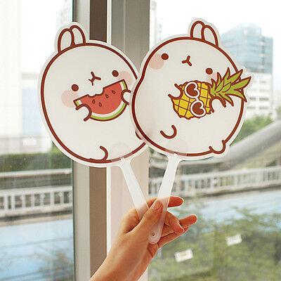 molang character shape Hand mini Fan - fruit series