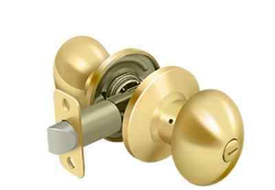Entry Door Lock Set Keyed Round Knob in 7 Finishes By FPL Door Locks /& Hardware