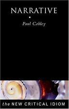 Narrative (The New Critical Idiom), Cobley, Paul, Good Book