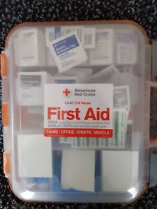 American Red Cross Clear Front ANSI A+ 50 Person First Aid Kit New Sealed